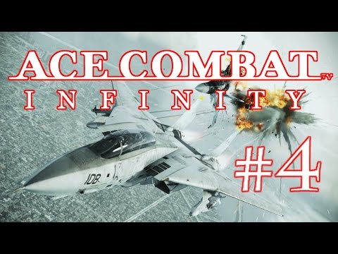 ACE COMBAT INFINITY - MISSION COOP GAMEPLAY #4