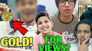 This YouTuber Won An OLYMPIC GOLD MEDAL! | Sourav Joshi & Piyush, Sandeep Maheshwari, Ashish, BB |