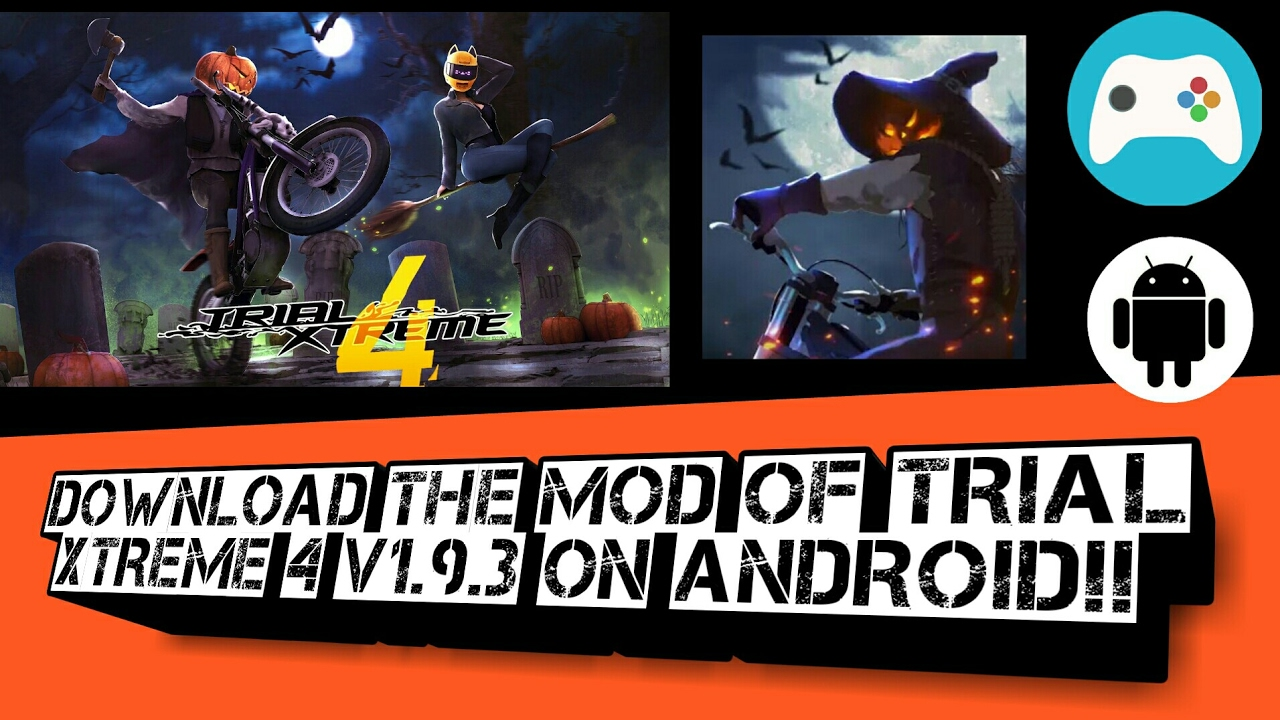 Download and install the mod of Trial Xtreme 4 v1 9 3 on any android  device!!
