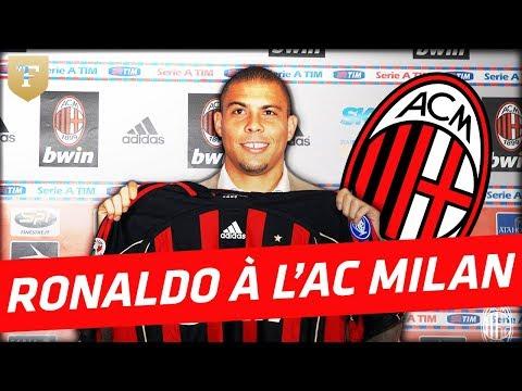 Ronaldo transféré à l'AC Milan (2007)