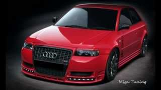 audi a3 8l project body kit from miga tuning