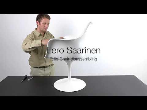 How to disassemble the Eero Saarinen Tulip Chair