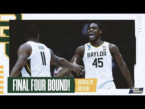 Baylor vs. Arkansas - Elite Eight NCAA tournament extended highlights