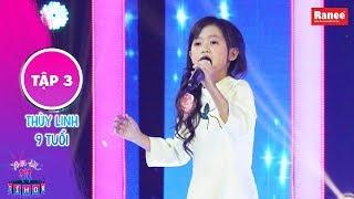 Biệt Tài Tí Hon 2 | Tập 3: Huỳnh Lập, Trấn Thành cảm động khi bé 8 tuổi cất giọng với Huyền Thoại Mẹ