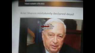 Prophecy Ariel Sharon Rabbi Yitzhak Kaduri Ariel sharon mistakenly declared dead
