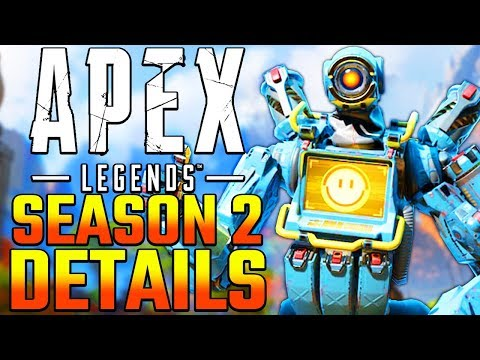 Apex Legends Season 2 Update Details Leaked! New Attachments + Energy Extended Mag + Flyers w/ Loot