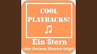 Ein Stern (der deinen Namen trägt) (Instrumental Karaoke Version Originally Performed By Nico...