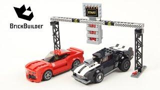 Lego Speed Champions 75874 Chevrolet Camaro Drag Race - Lego Speed build