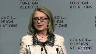Hillary Clinton - Remarks on American Leadership