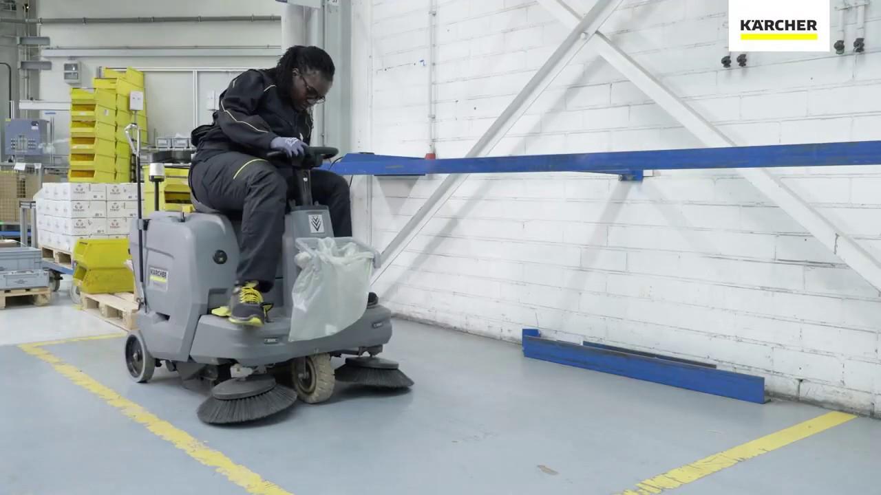 KM 85 50 Masina de maturat cu post de conducere - Cum folosim aparatul