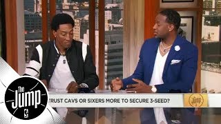 Scottie Pippen: Eastern Conference is 'weak' compared to Cavaliers | The Jump | ESPN