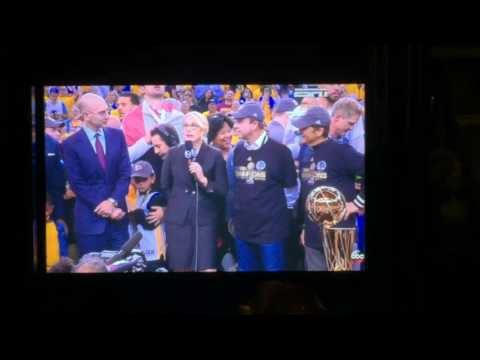 The Golden State Warriors Are Officially The NBA Champs! (6-12-2017)