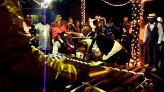 Kakande playing Sosisa at Irena & Kolipe's wedding