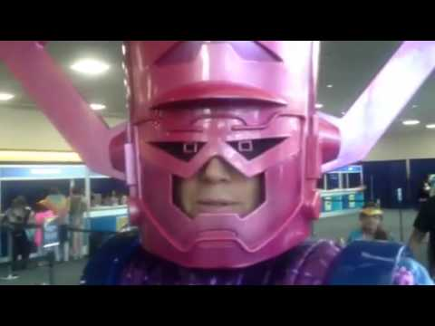 Galactus Cosplay At Comic-Con #SDCC