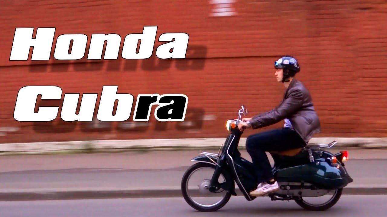 Honda Cub? Honda Cubra 90cc, обзор и тест-драйв!