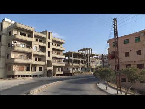 Driving: Syria Road Trip: From Homs Highway To Maaloula (2017-09-24)