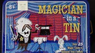 MAGICIAN IN A TIN CAN KIT REVIEW!