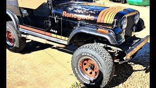 Rough Country Lift Cj 7 Jeep Build 4in Lift Installed Part 4