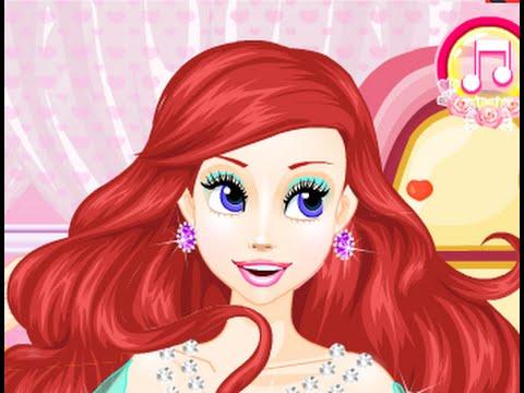 Kiu tóc ci ca nàng tiên cá Arile (Ariel † s Wedding Hairstyles)