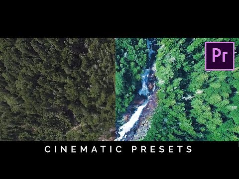 Cinematic Color Presets Pack FREE Download for Premiere Pro (Tutorial)