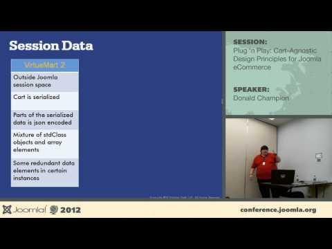 Plug 'n' Play: Cart-Agnostic Design Principles for Joomla! eCommerce - Donald Champion