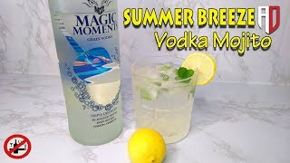 Summer Breeze | Mojito With Vodka | Mojito Cocktail | Vodka Cocktail | Magic Moments