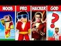 Minecraft NOOB vs PRO vs HACKER vs GOD : SHAZAM in Minecraft ! AVM SHORTS Animation
