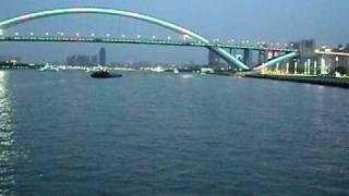上海  Shanghai Pont Lupu la nuit EXPO 2010