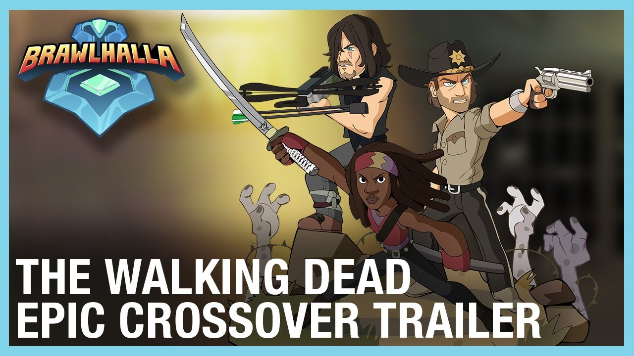 Brawlhalla The Walking Dead Epic Crossovers Ubisoft Na Youtube How tf kobe dead and im alive 15 фев. brawlhalla the walking dead epic crossovers ubisoft na