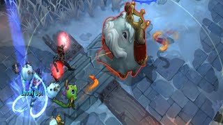 Legend of The Poro King Game Mode Gameplay! (League of Legends - LoL)