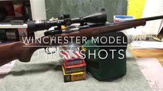 Winchester Model 70 Featherweight 7mm-08 - First Shots