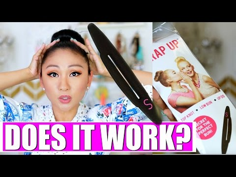 THE WRAP UP BUN TOOL! DOES IT WORK?!
