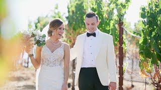 NAPA VALLEY Wedding Complete with Wine Cave Reception! | Sean Kenney Films