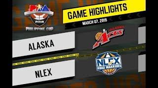 PBA Philippine Cup 2018 Highlights: Alaska vs NLEX Mar. 7, 2018