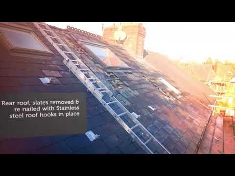 Manchester Solar Panels Installed on Slate Roof