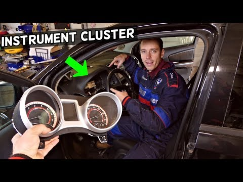 DODGE JOURNEY INSTRUMENT CLUSTER GAUGES REMOVAL REPLACEMENT FIAT FREEMONT