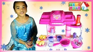 Video Toy Kitchen Set Cooking Playset For Children ❄ Cooking Toys For Kids by Haus Toys download MP3, 3GP, MP4, WEBM, AVI, FLV Maret 2018