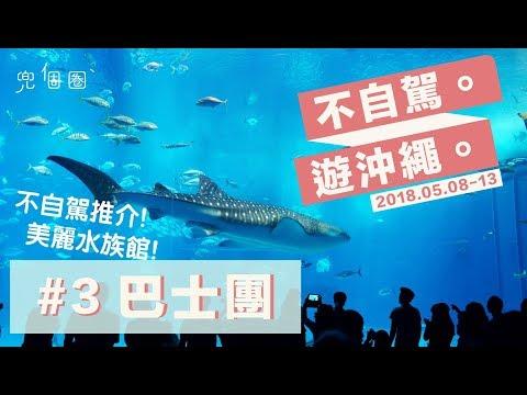 不自駕遊沖繩-第三集-巴士團【兜個圈】不自駕推介!美麗水族館!