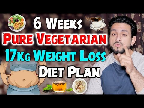 Pure Vegetarian 17Kg Weight Loss Diet Plan || 6 Weeks For Females thumbnail