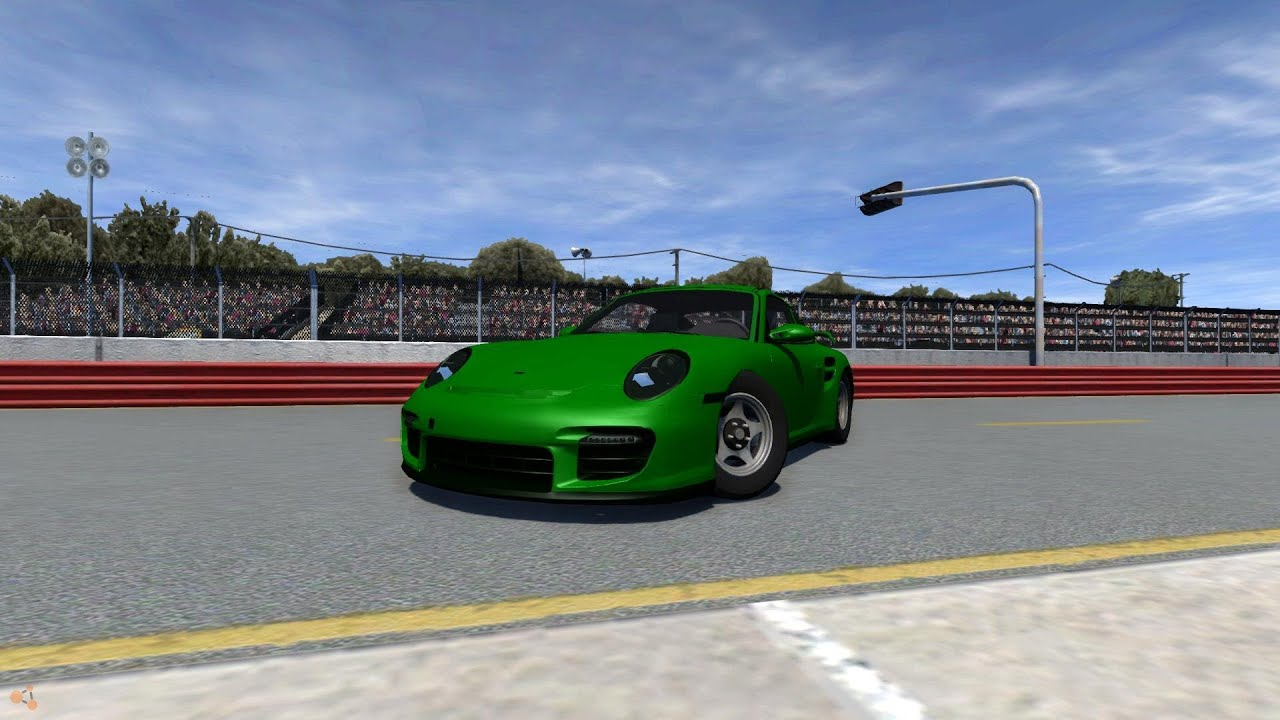 beamng drive alpha crash testing 20 porsche 911 gt2 beta youtube. Black Bedroom Furniture Sets. Home Design Ideas