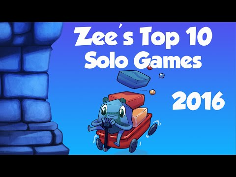 Zee's Top 10 Solo Games