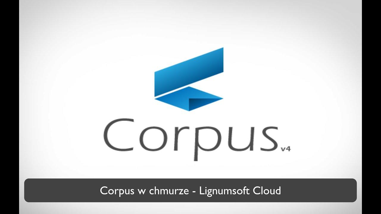 Corpus w chmurze