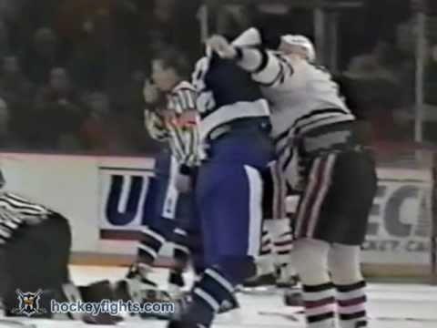 Maple Leafs vs Blackhawks Jan 16, 1992
