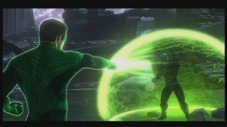 Green Lantern Final Boss + Game Ending XBOX 360 PS 3 PC