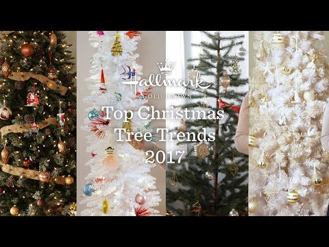 Top Christmas Tree Trends 2017