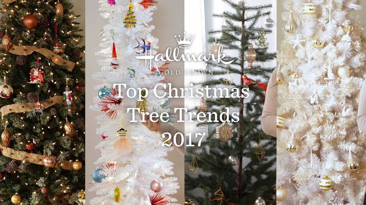 Top Christmas Tree Trends 2017 Youtube