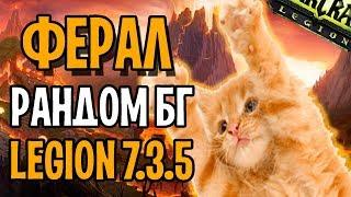 ФЕРАЛ ДРУИД НА РАНДОМ БГ | WOW LEGION 7.3.5