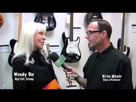 WENDY DIO & Eric Blair talk about The Ronnie James Dio Guitar Auction 2012