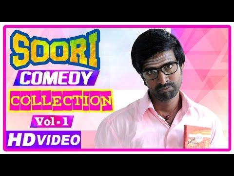 Soori Comedy Scenes   Latest Tamil Movies   Parotta Soori   Comedy Jukebox   Vol 1