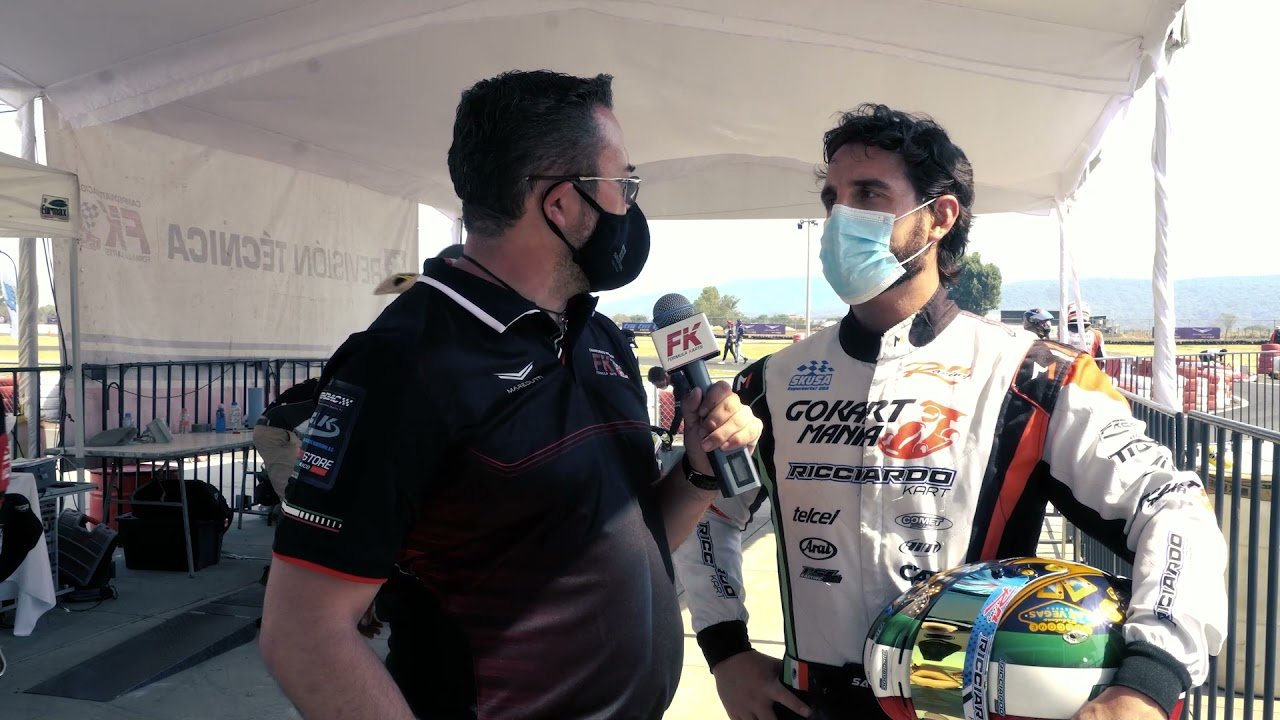 Entrevista Santiago del Rincón Fecha 3 Fórmula Karts
